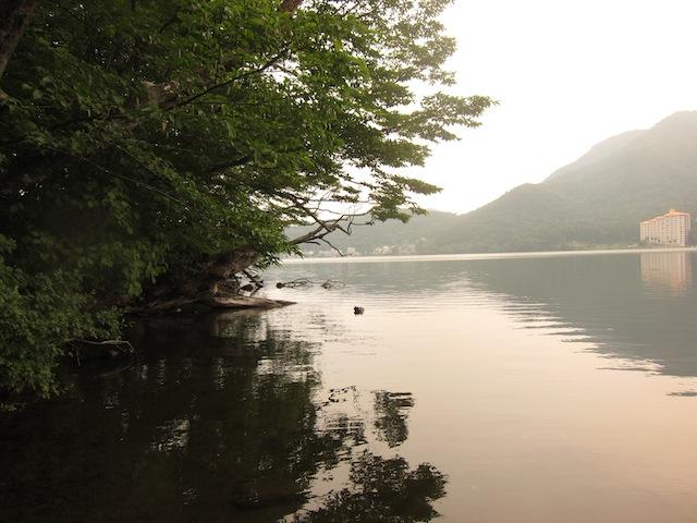 榛名湖バス釣り