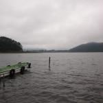 河口湖おかっぱりバス釣り