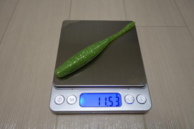 ドライブスティック4.5インチ FAT 重さ