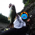 リザーバー釣行!ジグ練習中