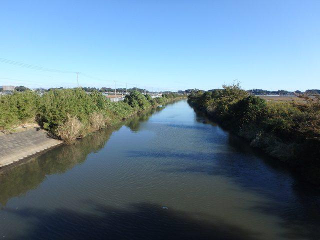 霞ヶ浦 境川