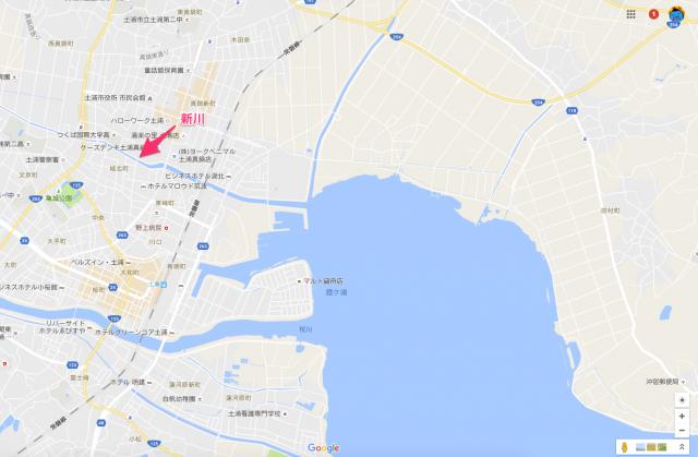 新川(霞ヶ浦おかっぱりポイント)
