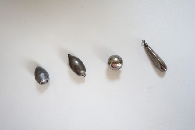 ヘビキャロ シンカー 種類