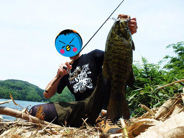 野尻湖 40アップ