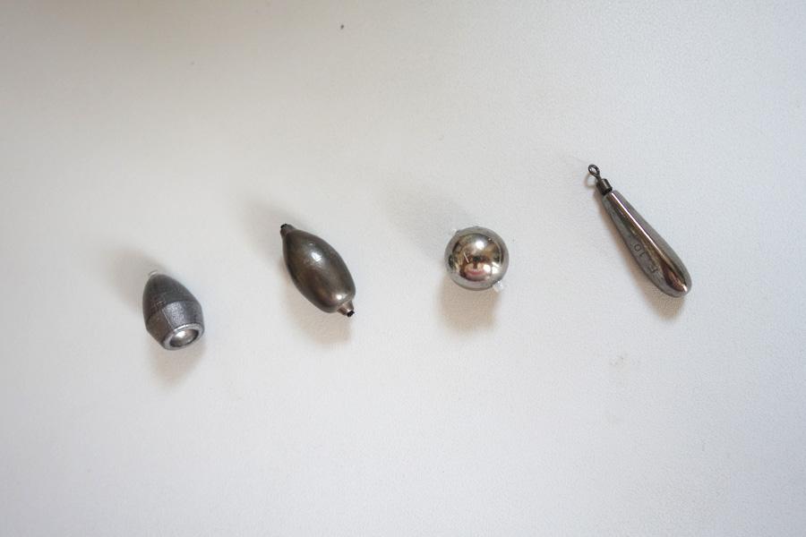 ヘビキャロ フック 種類