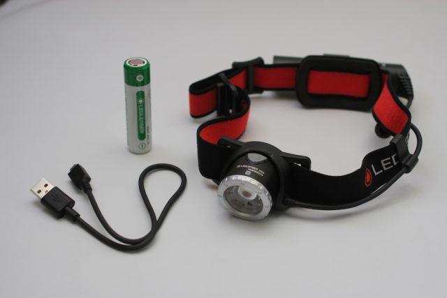夜釣り 釣り Ledlenser(レッドレンザー) LEDヘッドライト H8R 付属品